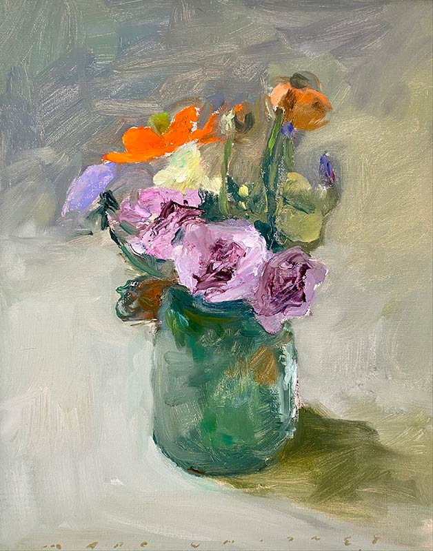 Bouquet with Three