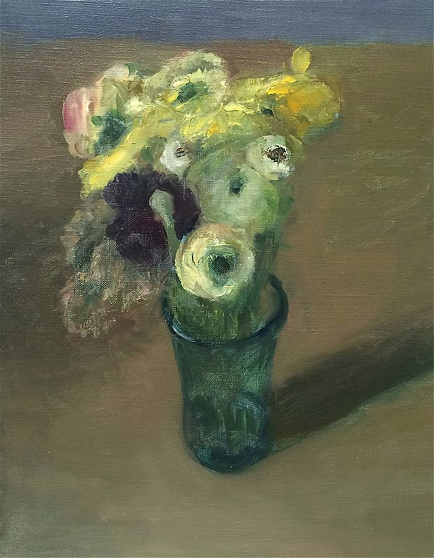 Marc Whitney oil painting Floral