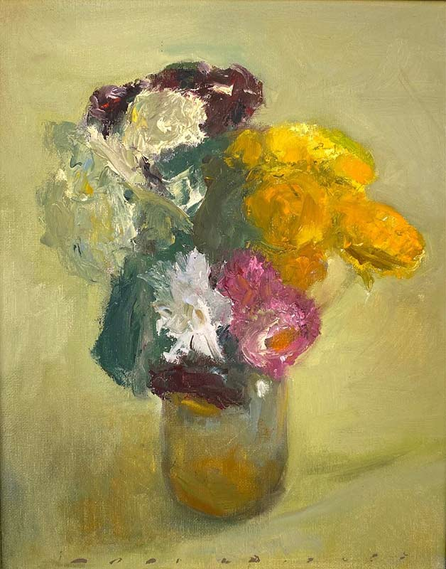 Bouquet of Flowers oil by Marc Whitney