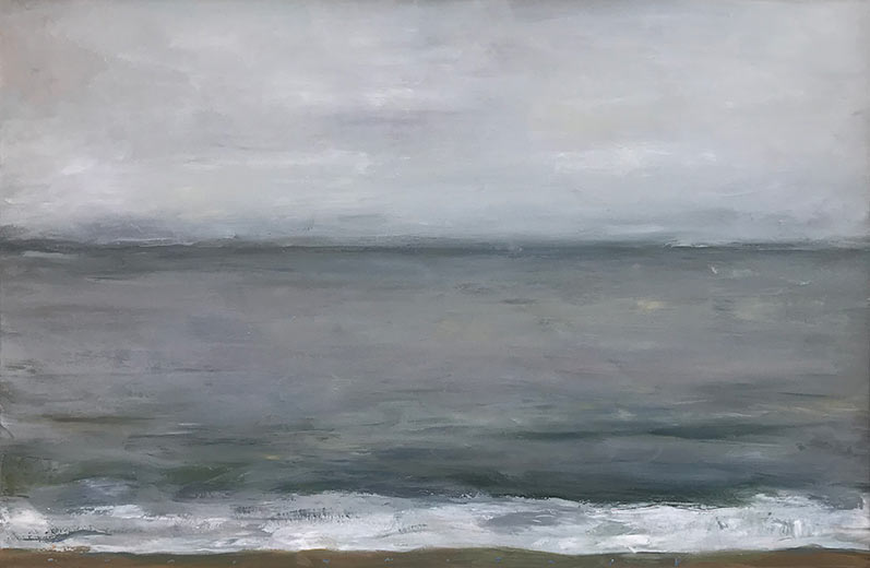 Marc Whitney oil painting, Calm