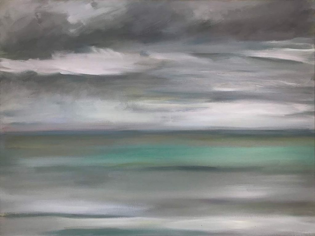 Marc Whitney oil painting - Rain