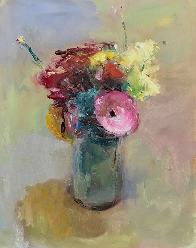 Small Bouquet oil painting by Marc Whitney