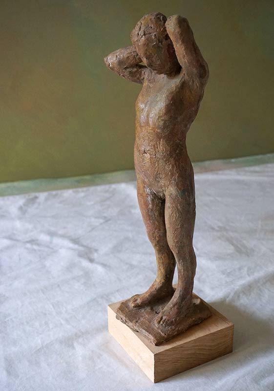 Marc Whitney sculpture Standing Figure