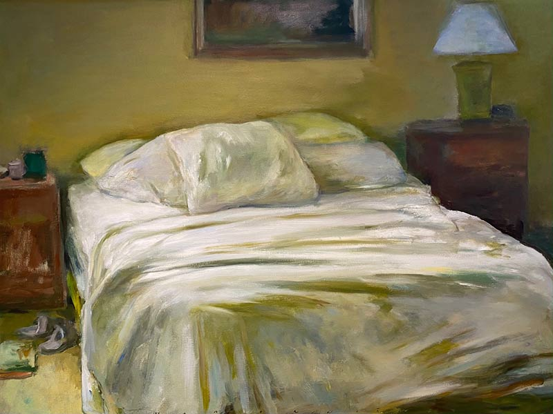 Two Night Stands oil by Marc Whitney