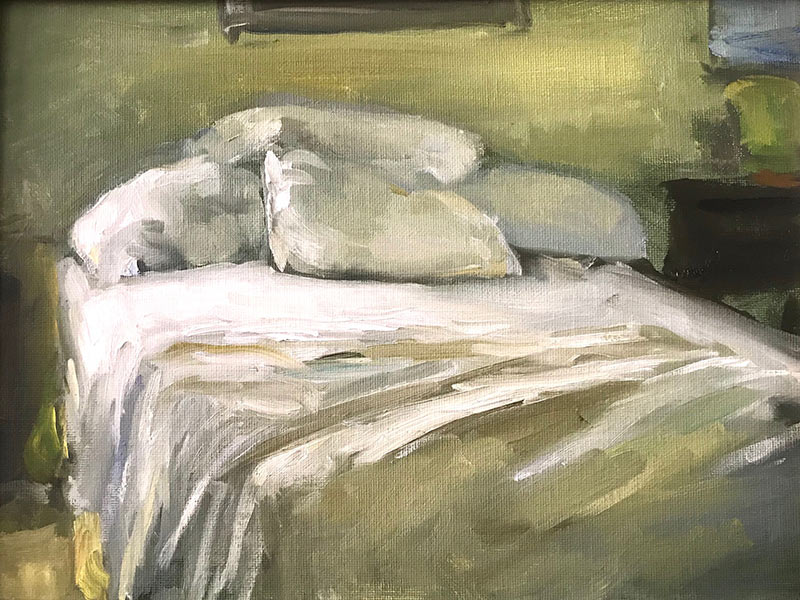 Unmade Bed by Marc Whitney