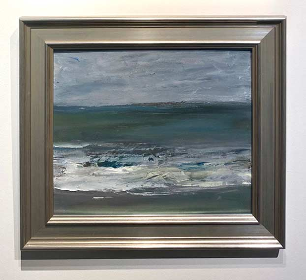 Laguna Seascape Sketch oil by Marc Whitney