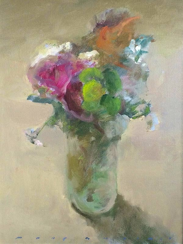 Marc Whitney fine art reproduction Back Lit Floral