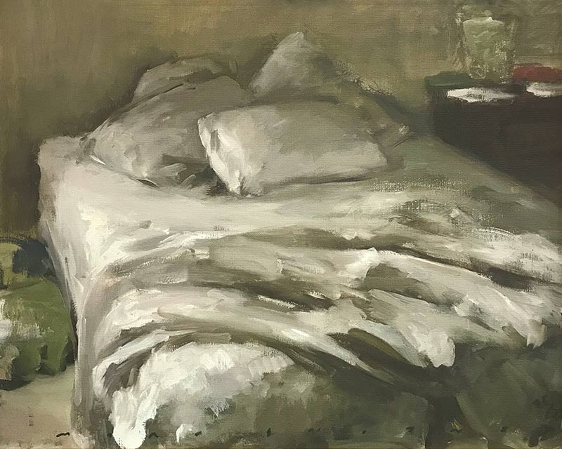Marc Whitney fine art print Bed Sheets