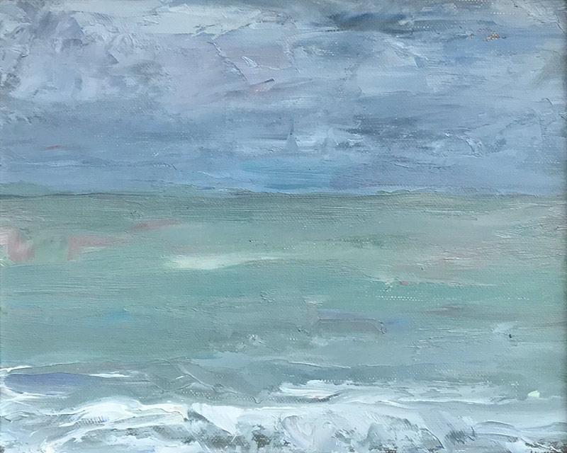 Marc Whitney oil painting Laguna Seascape II