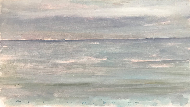 Marc Whitney oil painting Seascape