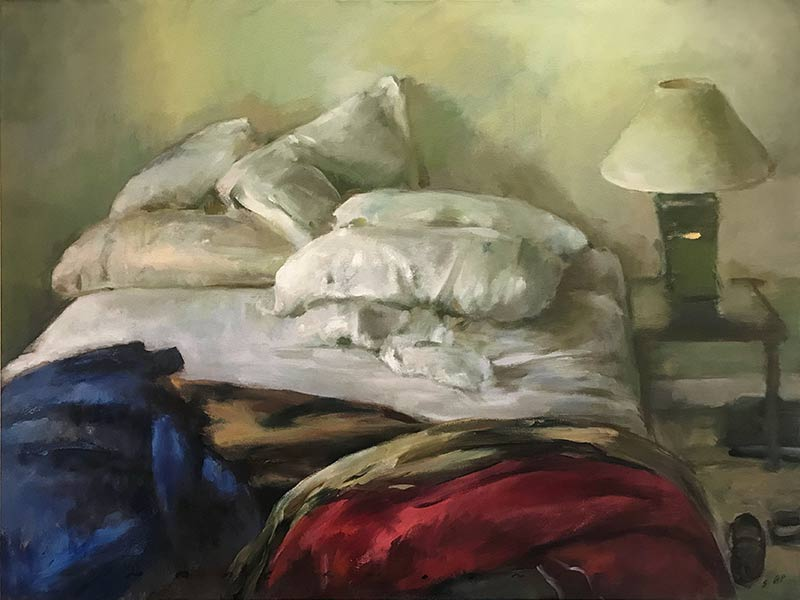 Marc Whitney fine art print Unmade Bed