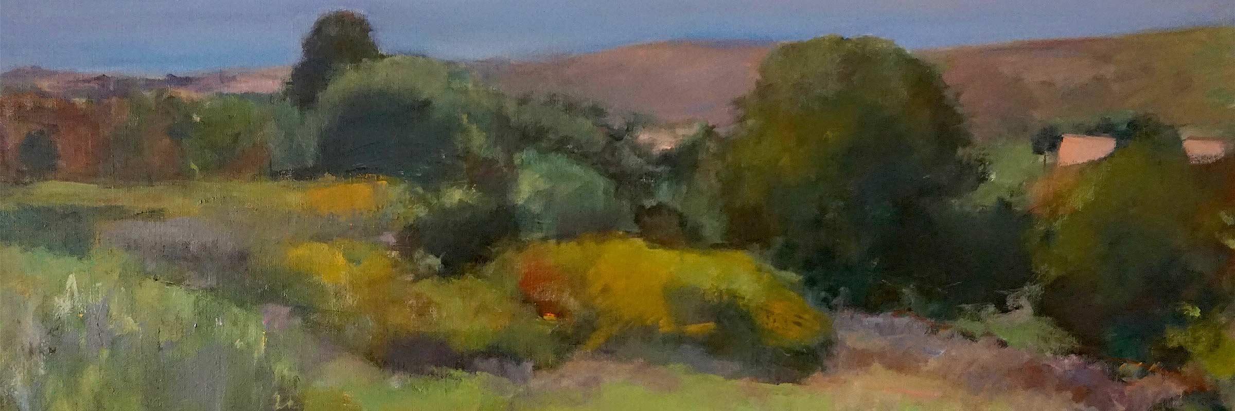 landscape painting Marc Whitney