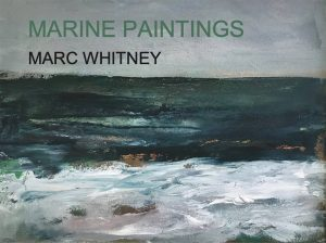 Marine Paintings Book by Marc Whitney